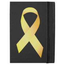 "Yellow Suicide Prevention Ribbon iPad Pro 12.9"" Case"