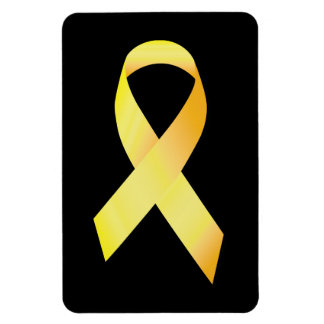 Yellow Suicide Prevention Ribbon Magnet