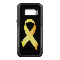 Yellow Suicide Prevention Ribbon OtterBox Commuter Samsung Galaxy S8  Case