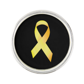 Yellow Suicide Prevention Ribbon Pin