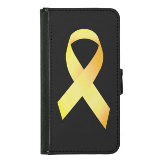 Yellow Suicide Prevention Ribbon