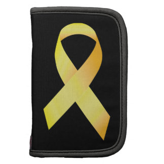 Yellow Suicide Prevention Ribbon Folio Planners
