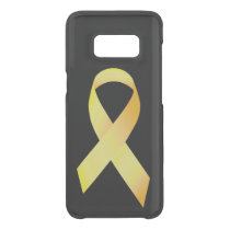 Yellow Suicide Prevention Ribbon Uncommon Samsung Galaxy S8 Case