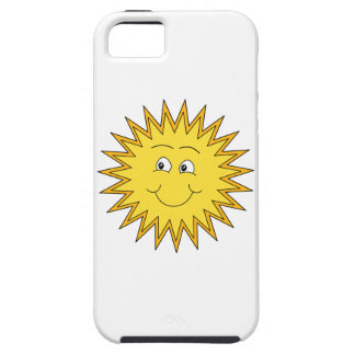 Yellow Summer Sun with a Happy Face. iPhone SE/5/5s Case