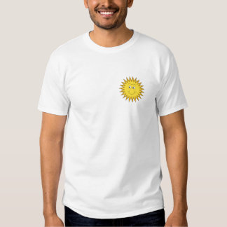 Yellow Summer Sun with a Happy Face. T Shirt