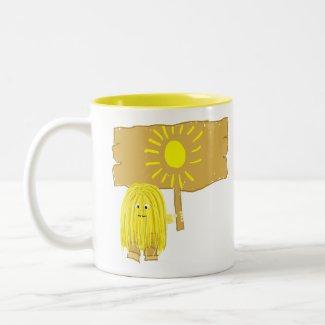 Yellow Sun mug