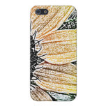 Yellow Sunflower Art Cases For iPhone 5