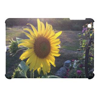 Yellow SUNFLOWER at Sunset iPad Mini Cases