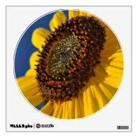 Yellow Sunflower, Blue Sky Wall Decals