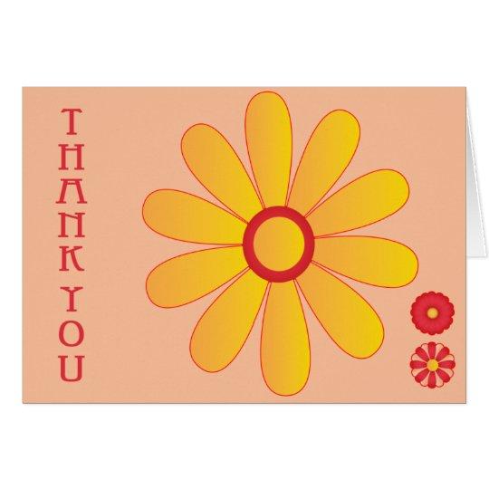Yellow Sunflower Card