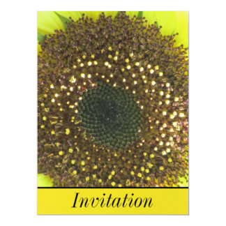 Yellow Sunflower Card