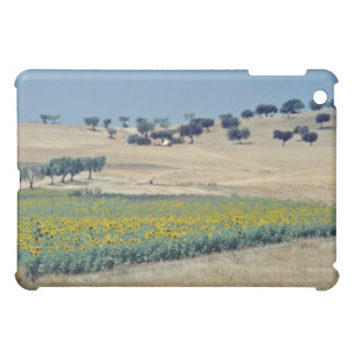 yellow Sunflower field in Portugal flowers iPad Mini Cover