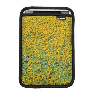 Yellow Sunflower Field Sleeve For iPad Mini