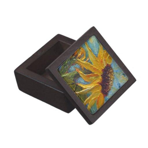 Yellow Sunflower Gift Box Premium Gift Boxes