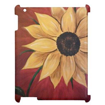 Yellow Sunflower Hard Shell IPad Mini Case