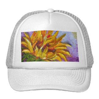 Yellow Sunflower Hat
