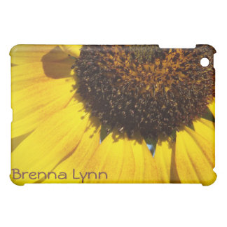 Yellow Sunflower iPad Case *Personalize*