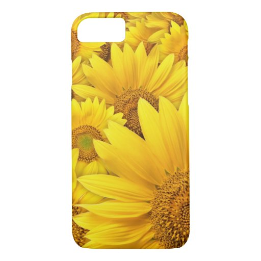 Yellow Sunflower iPhone 7 case
