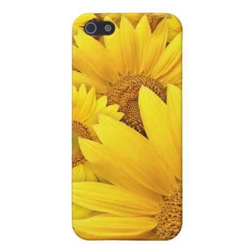 Yellow Sunflower iPhone Case 4 Cover For iPhone 5