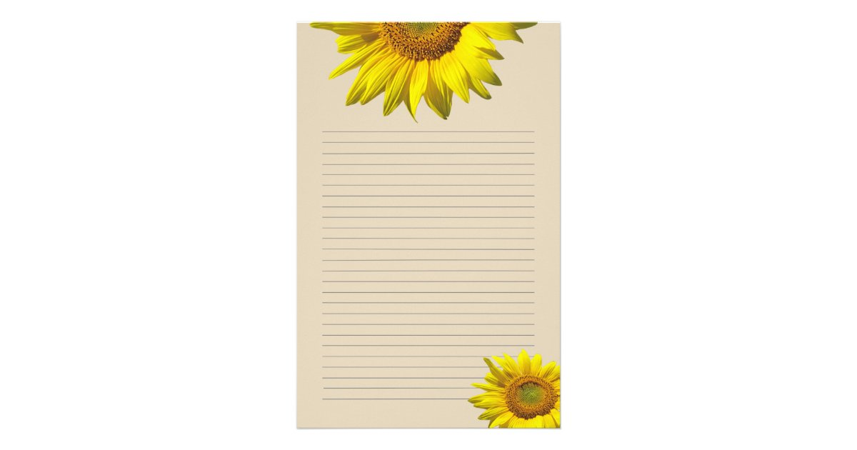 Personal writing paper