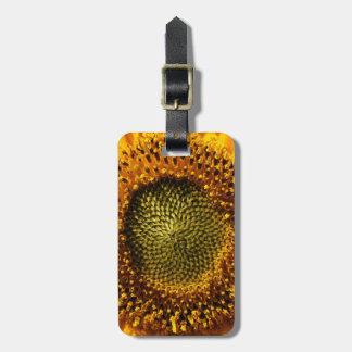 Yellow Sunflower Bag Tag
