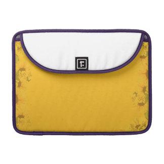 Yellow Sunflower Sleeve For MacBook Pro