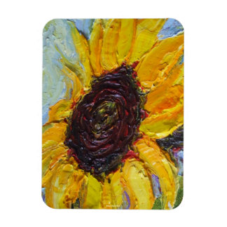 Yellow Sunflower Magnet