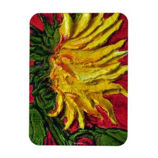 Yellow Sunflower Magnet