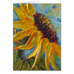 Yellow Sunflower Mothers Day Card