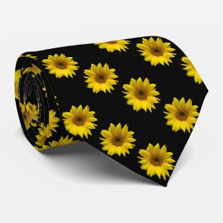 yellow sunflower photographic art print tie
