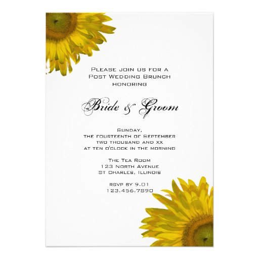 Post Wedding Brunch Invitations could be nice ideas for your invitation template