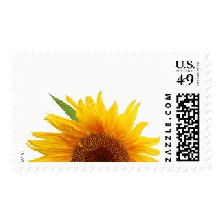 Yellow Sunflower Postage