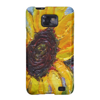 Yellow Sunflower Samsung Galexy Case Samsung Galaxy S2 Covers