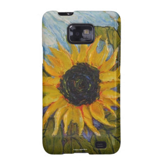Yellow Sunflower Samsung Galexy Case Samsung Galaxy SII Covers