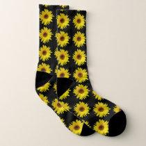 Yellow Sunflower Socks