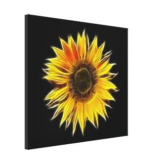 Yellow Sunflower Sun Flower Plant Canvas Print