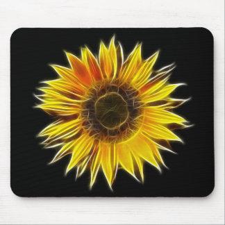 Yellow Sunflower Sun Flower Plant Mouse Pad