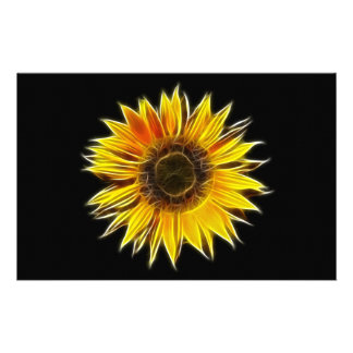 Yellow Sunflower Sun Flower Plant Stationery