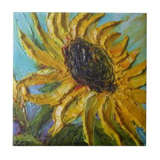 Yellow Sunflower Tile