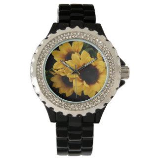 Yellow Sunflower Watch