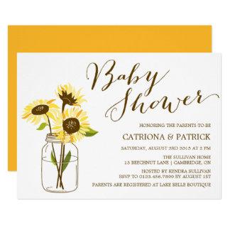 Sunflower Baby Shower Invitations Announcements Zazzle