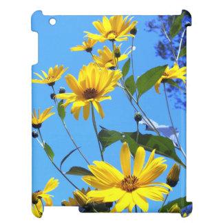 Yellow Sunflowers, Blue Sky iPad Case