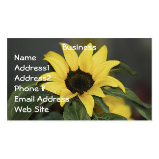 Yellow Sunflowers Business Cards