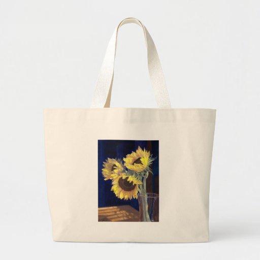 Yellow Sunflowers Canvas Bag