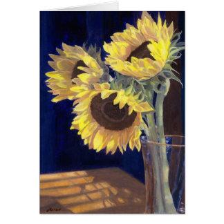 Yellow Sunflowers Greeting Card