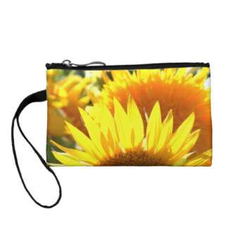 Yellow Sunflowers Coin Wallet
