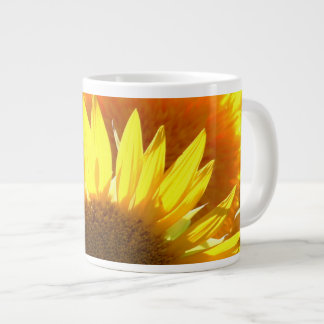 Yellow Sunflowers Giant Coffee Mug