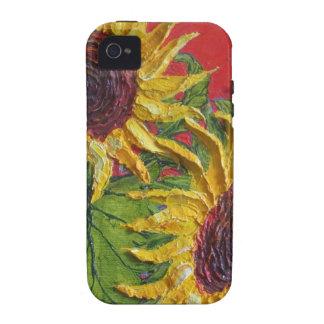 Yellow Sunflowers iPhone 4 Case