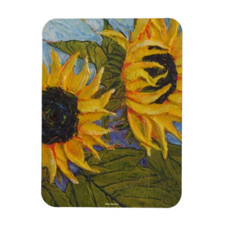 Yellow Sunflowers Magnet