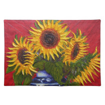 Yellow Sunflowers Placemat
